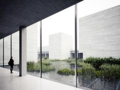 PETER GUTHRIE - PROJECT GLENSTONE  Visualisations of a new major expansion to the Glenstone Museum in Potomac, Maryland for the Glenstone Museum Foundation.