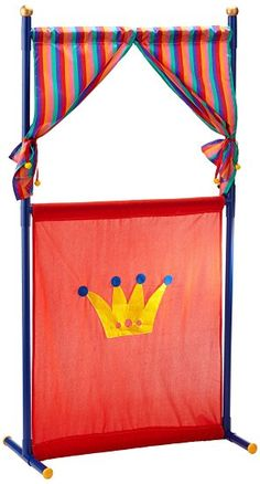Simba 104586783 Puppet Theatre with Four Hand Puppets 132 cm Pvc Projects, Sewing Projects, Sewing Patterns Free, Free Sewing, Art For Kids, Crafts For Kids, Marionette, Classroom Design, Hand Puppets