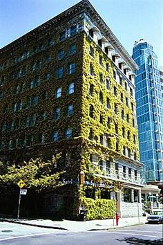 The Sylvia Hotel is surrounded by English Bay and is one of the very few hotels where your pet stays Free ! http://petscanstay.com/pet-friendly/hotel/the-sylvia-hotel