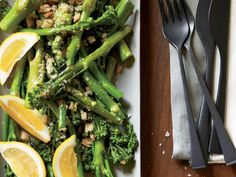 Broccolini with Crispy Lemon Crumbs | Food & Wine goes way beyond mere eating and drinking. We're on a mission to find the most exciting places, new experiences, emerging trends and sensations.