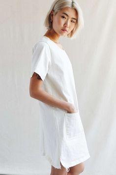 Urban Renewal Recycled Patch Pocket Denim Dress