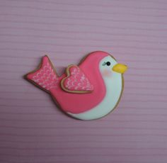 Bird cookie // Galleta de pajarito