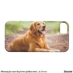 iPhone5/5s case dog lover golden retriever iPhone 5 Covers
