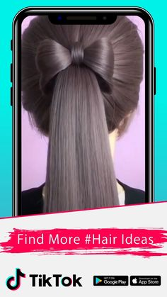 tiktok peinados Find and share exciting videos on - graduation Girl Hairstyles, Braided Hairstyles, Hairstyles Videos, Hair Upstyles, Hair Videos, Hair Hacks, Hair Inspiration, Your Hair, Curly Hair Styles