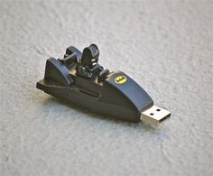 nanananananana #batman! #usb #batmobile #fun #gadgets #usbs #flashdrives #bat #vroom #black #toys #memory