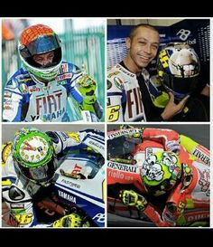 Rossi has a special helmet every year at misano since 2008