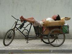 Working bike at rest