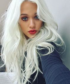 Lottie Tomlinson's Lavendar-Platinum Hair Is the Dreamiest Thing You'll See All Day | from InStyle.com