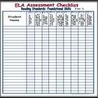 Use these assessment tools to help you keep track of common core aligned instruction and student progress.  There is a table written in kid-friendl...