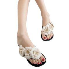 $8.44 (Buy here: https://alitems.com/g/1e8d114494ebda23ff8b16525dc3e8/?i=5&ulp=https%3A%2F%2Fwww.aliexpress.com%2Fitem%2Fsummer-women-sandals-big-camellia-flower-flip-flops-2015-new-multi-color-sweet-casual-slides-platform%2F32304329083.html ) summer women sandals big camellia flower flip flops 2016 new multi color sweet casual slides platform sandals SWXX0710620 for just $8.44