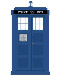 Custom Car Wraps | Dr. Who TARDIS Vehicle Wrap