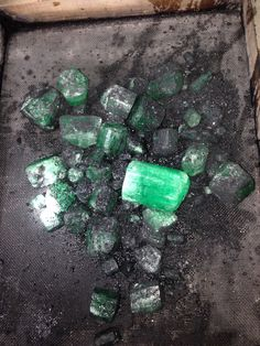 Rough Raw Emerald