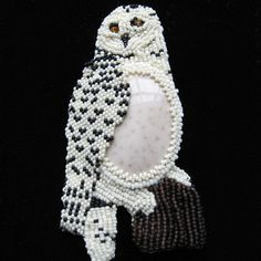Custom Made Beaded Brooch YOUR CHOICE of DESIGN by BeadedNature