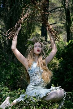 A Forest, Niovi's self photoshoot