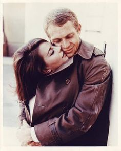 "Natalie Wood & Steve McQueen in the movie, ""Love With a Proper Stranger"", 1963"