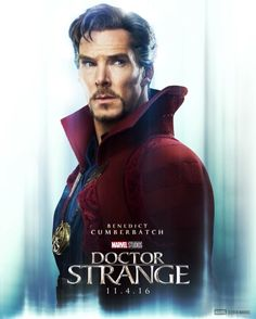 Discover a new hero. Benedict Cumberbatch is #DoctorStrange. See Doctor Strange in theaters November 4th.