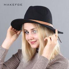Slanted Brim Trilby Cap Grosgrain Bow Hatband Trendy Felted Wool Fedora