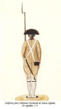 Milicia Provincial de Nueva España 1795