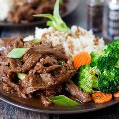 Pressure Cooker Mongolian Beef