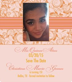 quinceaera save the date magnets fit for a princess magnetstreet