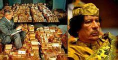 """""""続》イラクやリビアから米軍が略奪した金塊は、どこに保管されているのか?カダフィーは、保有する金に裏付けられた通貨によってアフリカ経済圏を構築しようと計画していた。西欧の支配から完全に切り離された自立型の経済を打ち立てることによって、資源豊富なアフリカの繁栄を夢に描いていたのだ。"""""""