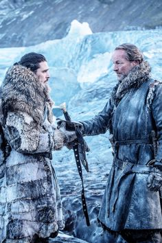 Jon Snow, Ser Jorah Mormont, game of thrones season 7 episode Kit Harington Winter Is Here, Winter Is Coming, Ser Jorah Mormont, Game Of Thrones Instagram, Dragon Dies, My Champion, King In The North, Iron Throne, Night King