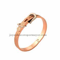 2f3459a3654a adjustable rosada pulsera de bisuteria de acero inoxidable venta al por  mayor