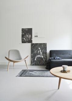 "theiloveuglyblog: ""simply–aesthetic: ""Carl Hansen CH07 Shell Chair "" """