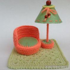 Личное кукольное пространство / Домики для кукол, мебель своими руками. Коляски, кроватки и другое / Бэйбики. Куклы фото. Одежда для кукол