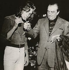 Luchino Visconti e Björn Andrésen