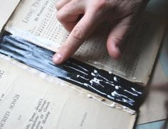How to Fix the Binding on a Hardcover Book. My kids are rough and tough on their story books. Paper Bag Album, Book Spine, Handmade Books, Book Binding, Book Making, Book Crafts, Life Skills, Crafts To Make, Book Worms
