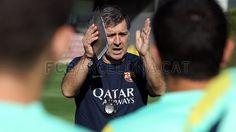 Gerardo 'Tata' Martino first training session