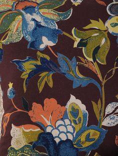 Sherwood Tamrind Printed Cushion Cover