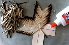 Burnt matchstick cross tutorial - really??? yikes