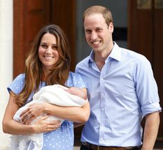 Catherine gave birth to Prince George Alexander Louis of Cambridge on July 23, 2013, at St. Mary's Hospital in London. (He weighed a healthy 8lb 6oz!) The next day, a radiant Kate and very proud Will greeted fans and introduced the new heir to the world.  - GoodHousekeeping.com