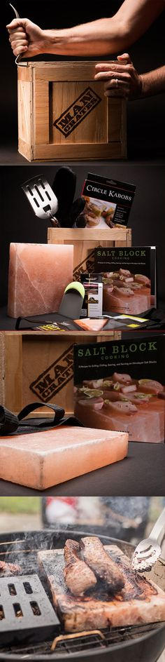 Would your Dad put the iron chefs to shame? No chef if worth his salt if he's not salting with a pristine Himalayan Salt Plate. This Father's Day, give your dad the gift of grilling versatilty and unparalleled flavor with the Everest Grill Man Crate. It's basically brining your meat in an ocean for 600 million years, and if that doesn't sound incredible to you, then we're probably not explaining it right because it's the most delicious thing we've ever grilled.