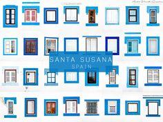 Santa Susana, Spain #windows #doors #photography #AllAroundTheWorld #AndreGoncalves #Photographer #Europe #World #Art #Design #Culture #Community #WindowOfTheWorld #DoorsOfTheWorld #designersdome #inspiration #BeInspired #BeautexLuxuryConcepts #since1963