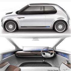 Ideas small cars interior for 2019 Car Interior Sketch, Car Interior Design, Automotive Design, Fuel Cell Cars, Car Fuel, Lamborghini Pictures, Electric Car Conversion, H Design, Auto Design