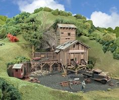 How to build an abandoned mine