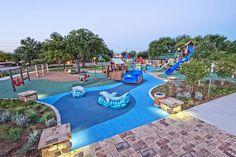 Dove Park in Grapevine - splash pad & water park