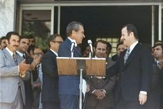 Hafez Assad President of Syria and Richard Nixon 37 President of the USA Hafez Al Assad, Henry Kissinger, How To Make Notes, Syria, Presidents, Politics, Usa, Books, Google Search