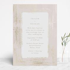 """""""stippels"""" - Modern Foil-pressed Wedding Invitations in Blush by Phrosne Ras. Foil Stamped Wedding Invitations, Wedding Invitation Design, Simple Weddings, Real Weddings, Blush Weddings, Wedding Stationery Inspiration, Wedding Inspiration, Wedding Cards, Wedding Day"""