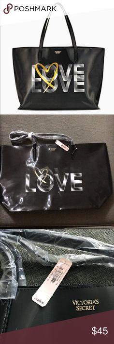 BNIP Victoria Secret Love Tote Brand new in original packaging Victoria's Secret Bags Totes