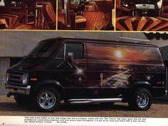 '70's Custom Van...vk