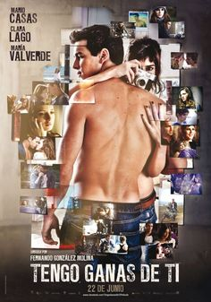 """New and sexiest poster for Spanish film """"Tengo ganas de ti"""". Also artistic photography style to show scenes from the movie"""