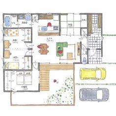 清家修吾さんはInstagramを利用しています:「. 【ボツプラン631】 間取り、いい感じですね。 自転車置き場はどこにしましょうか。 . ---------------------------------- 本体価格 : 1576万円(税別) 延床面積 : 28.50坪 Ua値 :…」 Build Something, Tiny House, House Plans, Floor Plans, House Design, Flooring, How To Plan, Building, Inspiration