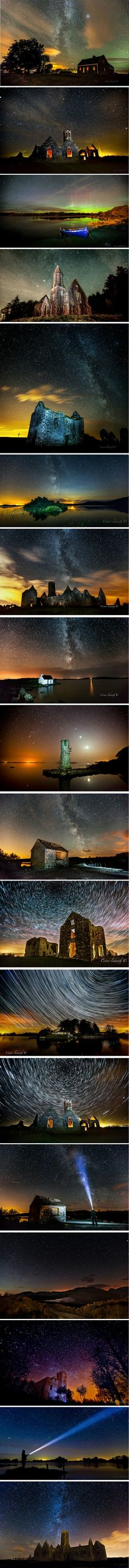 I will never forget the way the night sky looked when I spent time up north. It made me want to forever lay under them and brought me complete comfort and serenity. Just these pictures alone make me think of that and wish I were there right now. Conor Ledwith Photography ( http://500px.com/conorledwith )