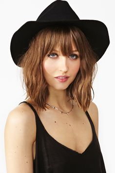b599b2c83e7 Stevie Wool Hat - Black in Accessories Hair + Hats at Nasty Gal Seventies  Fashion