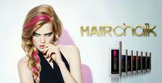 Amostras e Passatempos: Bangs - Passatempo HairChalk