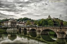 Torino In My eyes: Cloudy Over the Po Living In Italy, Turin, Early Spring, My Eyes, Europe, Clouds, Country, Travel, Beginning Of Spring